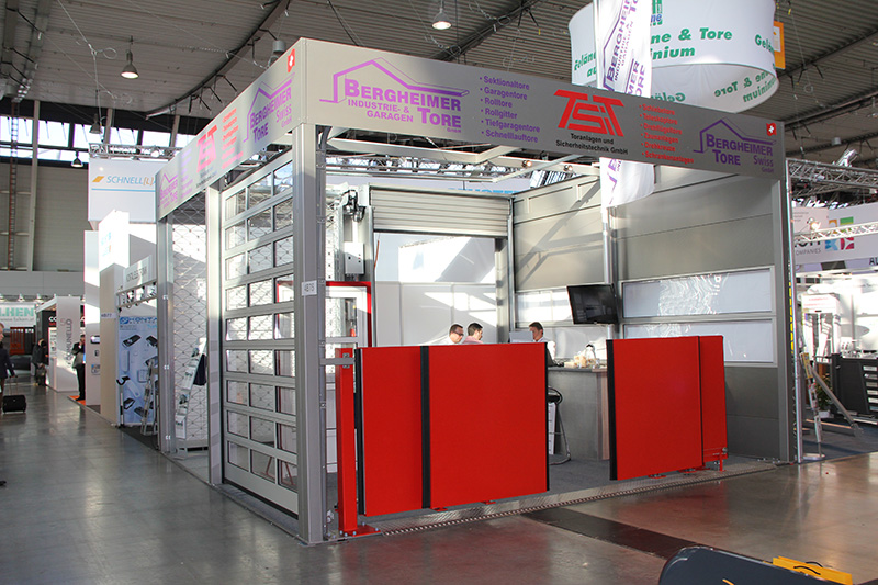 TSiT Torsysteme - R&T Messe in Stuttgart